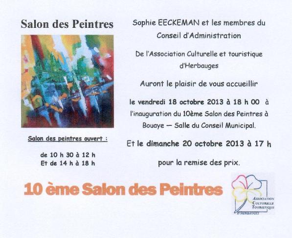 invitation salon des peintres 20133